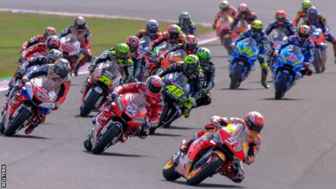 Marc Marquez leads the way at the Argentine MotoGP