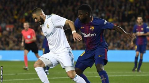 £437m Samuel Umtiti release clause ends Jose Mourinho interest