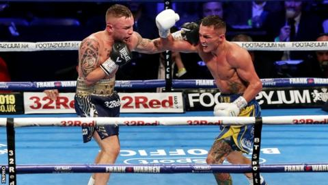 Carl Frampton v Josh Warrington