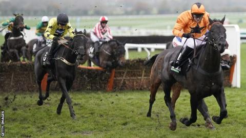 Harambe and Monsieur Lecoq in the Greatwood Handicap