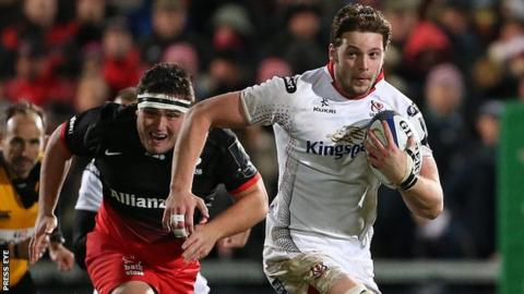 Ireland back row Iain Henderson could return for Ulster before the end of the season