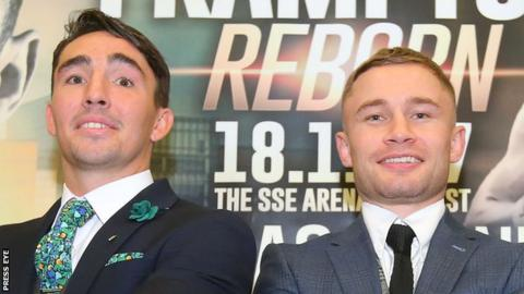 Jamie Conlan and Carl Frampton will be part of the big Belfast bill on 18 November