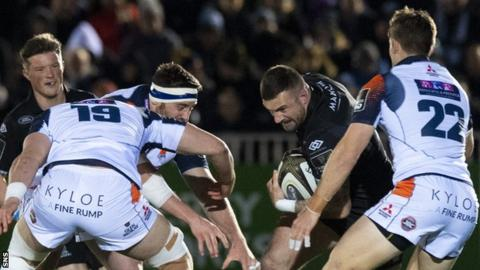 Edinburgh against Glasgow Warriors