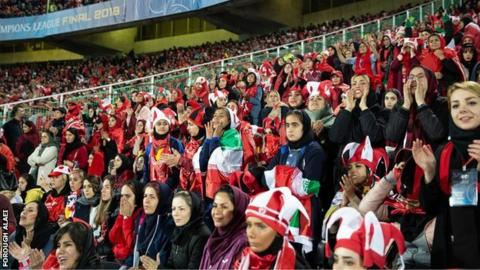 Iranian government criticised as women stadium entry deadline looms