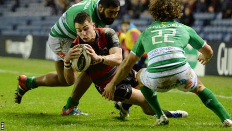 Hoyland scored the game's opening try