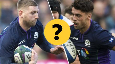 Finn Russell and Adam Hastings
