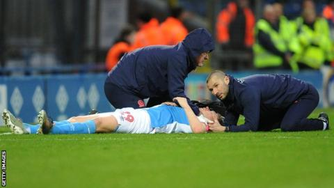 Corry Evans was five minutes into his 200th Blackburn Rovers appearance when the incident happened in their 1-1 draw against Preston North End