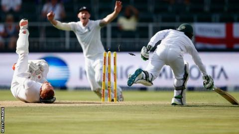 Temba Bavuma run out