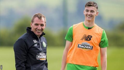Brendan Rodgers has spoken very highly of teenage full-back Tierney