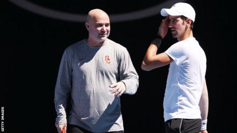Struggling Djokovic splits with coach Agassi