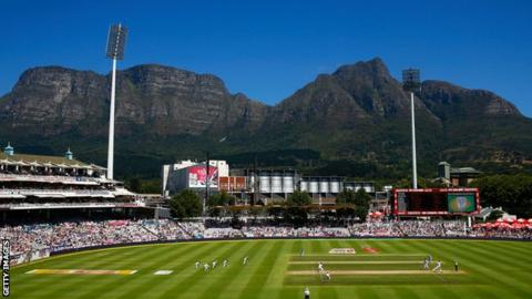 Newlands Stadium in Cape Town