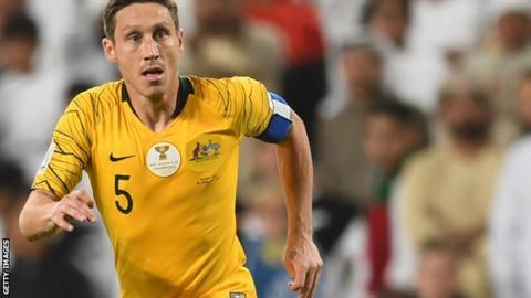 Mark Milligan captain Australia