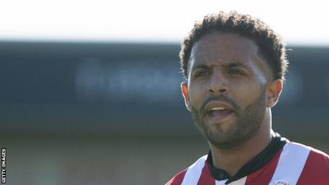 Bruno Andrade has scored twice in 23 appearances for Lincoln City so far this season