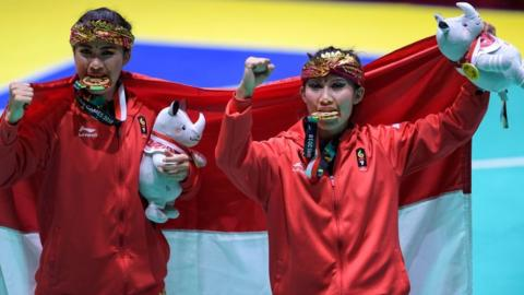 Asian Games: Indonesia faces big bill after gold rush - BBC Sport on asian haiti, asian country, asian india, asian nigeria, asian jamaica,