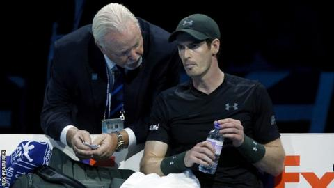Murray's match was the longest at the event since it moved to London in 2009