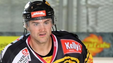 Jonathan Ferland played for the Vienna Capitals