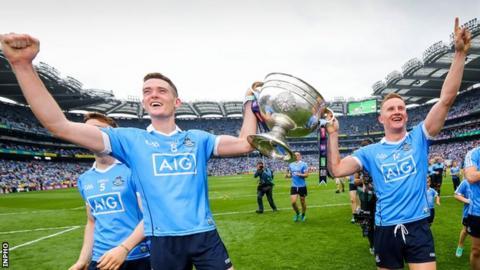 Dublin's Brian Fenton (left) and Ciaran Kilkenny (right)