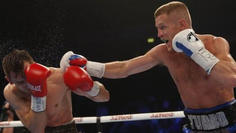 Terry Flanagan beats Petr Petrov by unanimous decision at the Manchester Arena