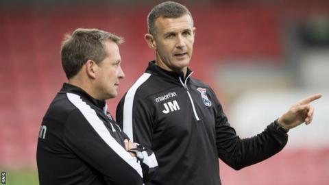 Billy Dodds and Jim McIntyre