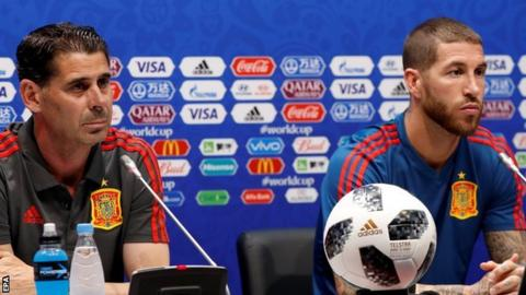 Spain sack manager Julen Lopetegui two days before first match
