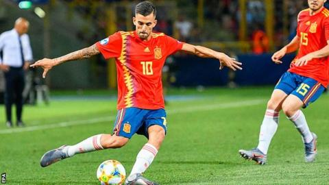 Real Madrid's Ceballos has six caps for Spain