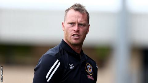 Newport manager Michael Flynn dreaming of Liverpool trip after Leeds giant-killing