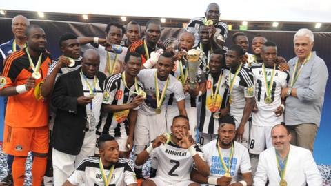 TP Mazembe are looking to become the second team to successfully defend the Confederation Cup