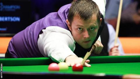 Mark Allen missed out on a last-16 meeting with fellow NI player Joe Swail