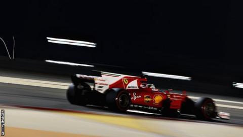 Ferrari's Sebastien Vettel