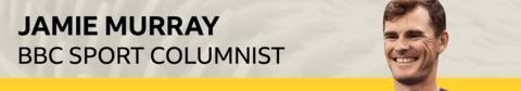 Jamie Murray columnist banner