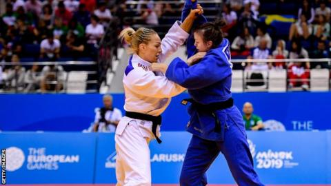 World Judo Championships: Sally Conway 'feeling strong' ahead of Tokyo