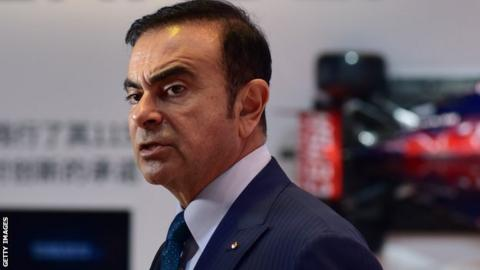 Renault chairman and chief executive officer Carlos Ghosn