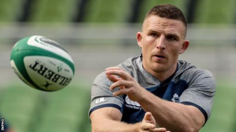 Munster's Andrew Conway will play at full-back against Scotland