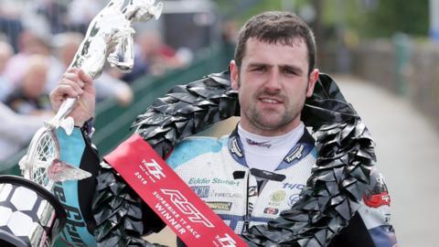 Michael Dunlop has achieved 18 Isle of Man TT wins