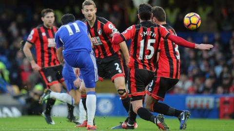 Pedro scores for Chelsea