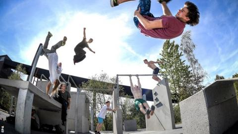 Parkour is sometimes known as freerunning
