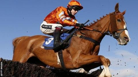 Aidan Coleman riding Drop Out Joe at Wincanton