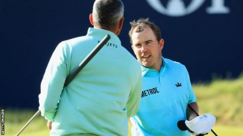 Richie Ramsay enjoyed playing with co-leader Matt Kuchar