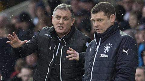 Owen Coyle and Graeme Murty