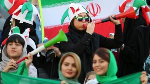 Iranian female fans
