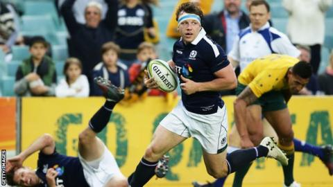 Hamish Watson scored a fabulous try for Scotland