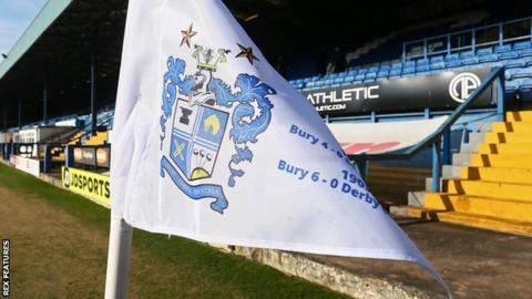 Bury won automatic promotion from League Two this season at the first attempt