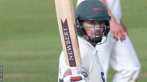 Leicestershire opener Paul Horton