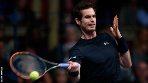 Murray ended 2015 as number two in the world rankings behind Novak Djokovic