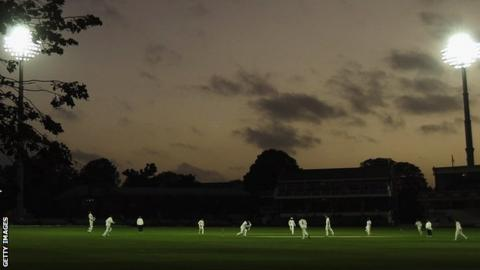 Day-night Championship cricket