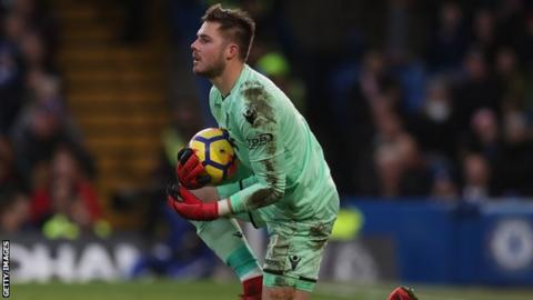 Jack Butland has won six caps for England