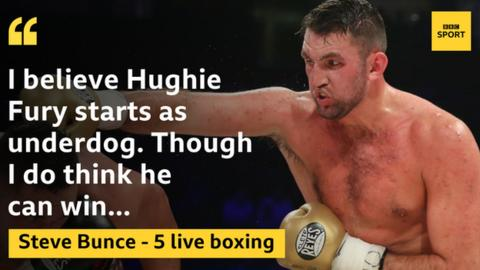Tyson Fury backs cousin Hughie following Kubrat Pulev defeat