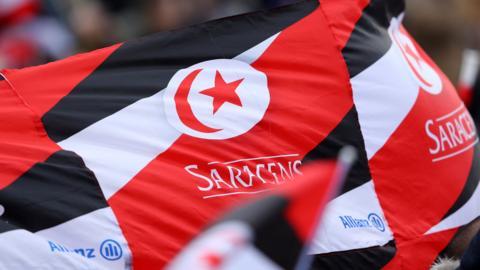 Saracens flags