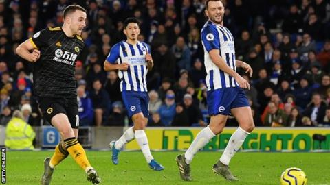 Diogo Jota scored two goals for Wolves