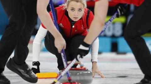GB women's curling team